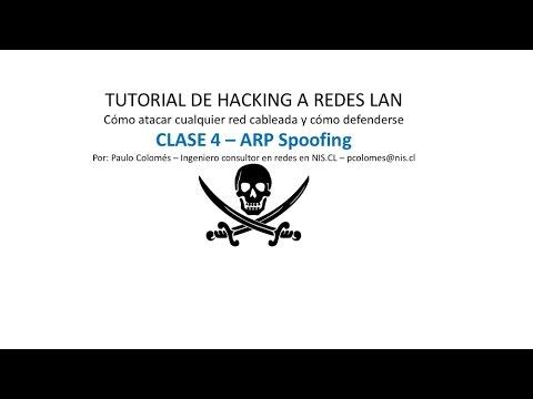 Curso de hacking a redes LAN: Clase 4 - ARP Spoofing