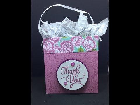 Christmas Craft fair idea , making small gift bags