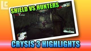 Crysis 3 Mutiplayer Beta - Shield Killing Hunters (Crysis 3 Beta Gameplay/Commentary)