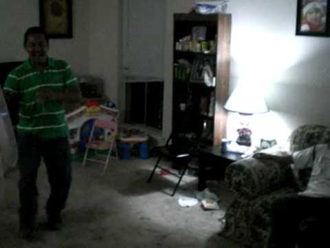 Drunk mexican guy dancing