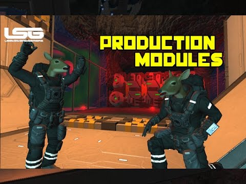 Space Engineers - Production Modules & Upgrades