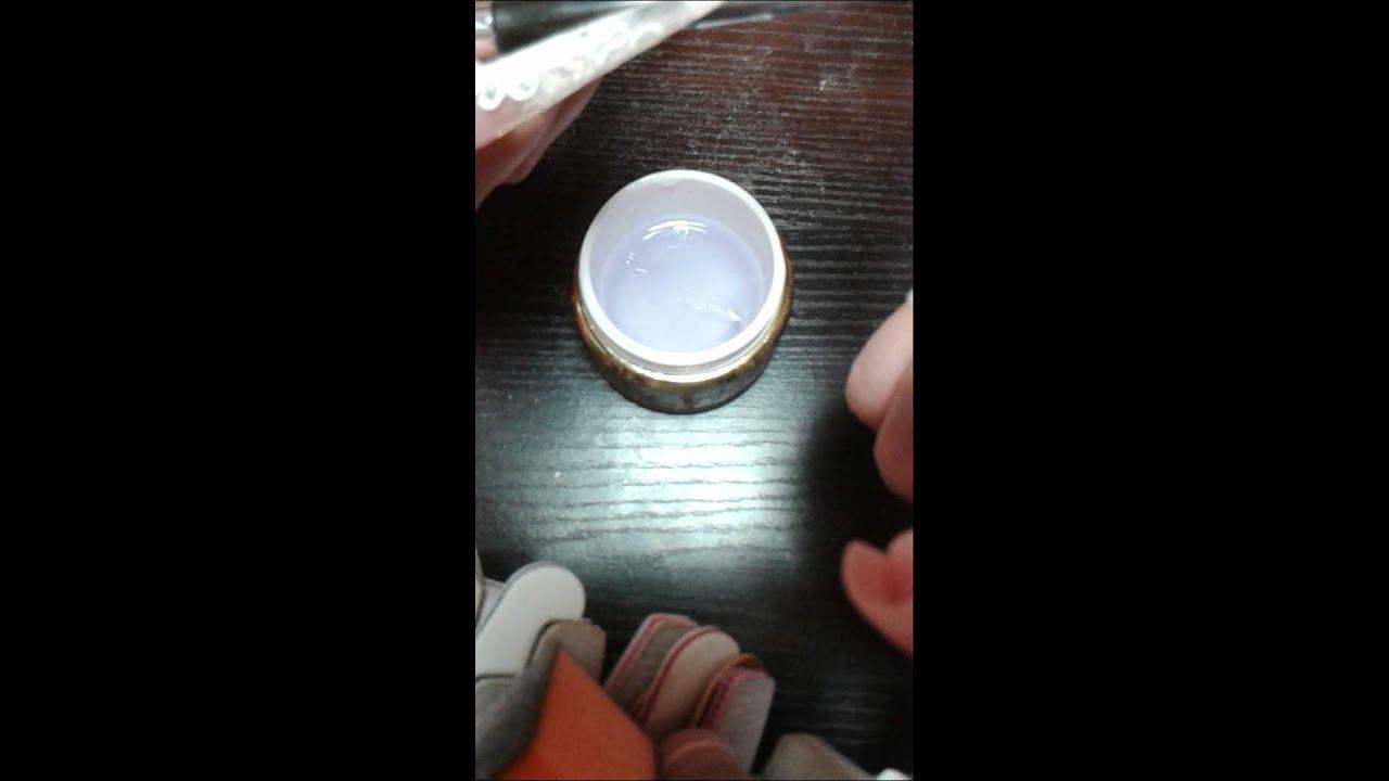 Tutorial French De Adancimeconstructie Cu Geluri Gold Nails Youtube