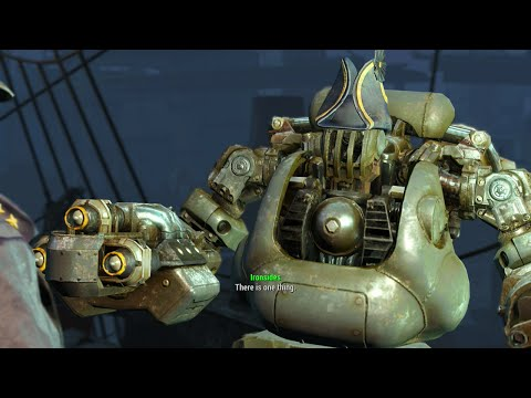 Fallout 4 - USS Constitution - Full Walkthrough
