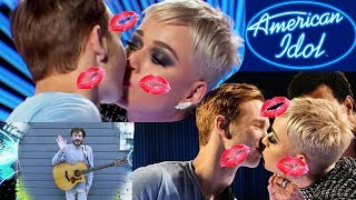 American Idol - Katy Perry's Kiss Fiasco & Aftermath Video