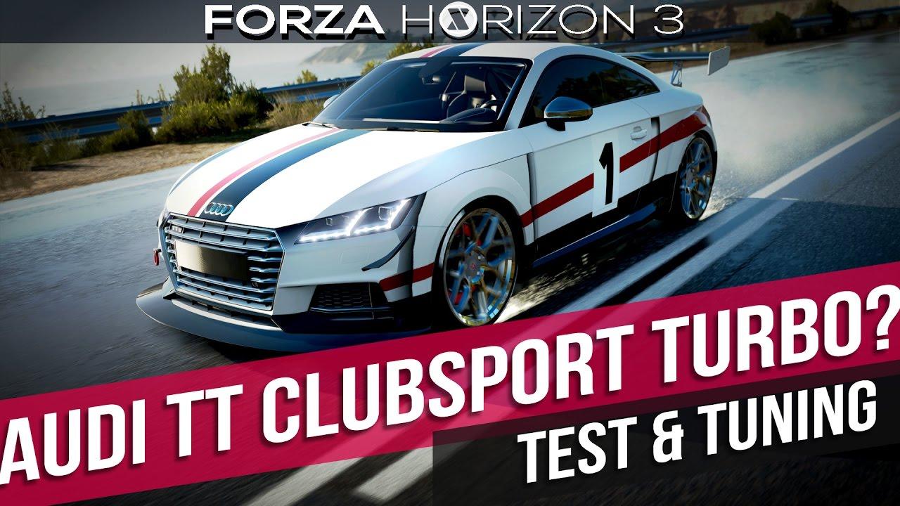 Forza Horizon 3 Pc Audi Tt Clubsport Turbo Probefahrt Directix