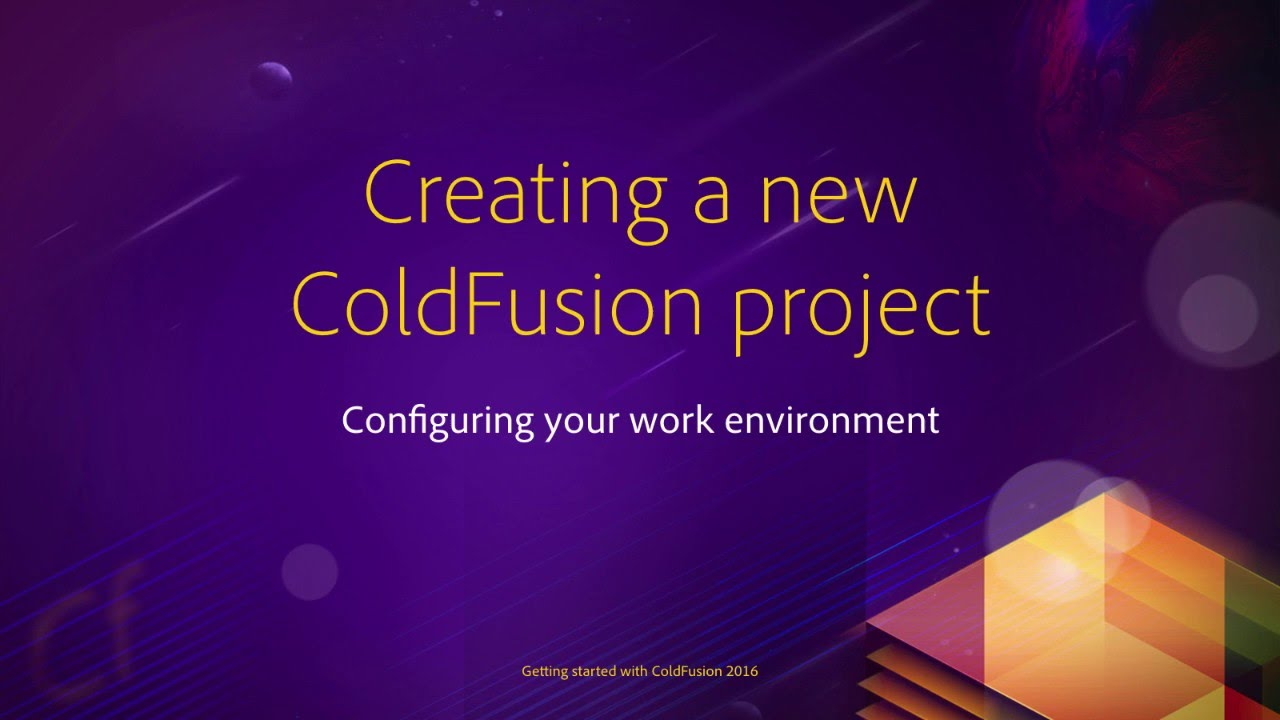 Where can i find a good beginner tutorial for coldfusion? Stack.