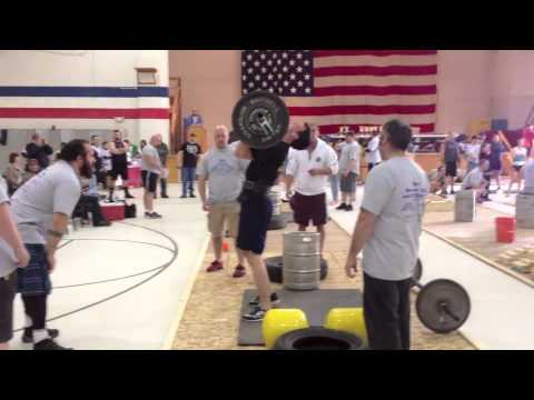 Chris Noonan • Maine StrongMan 6 • Event 1: Press Medley