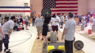 Chris Noonan • Maine StrongMan 6 • Event 1: Press Medley