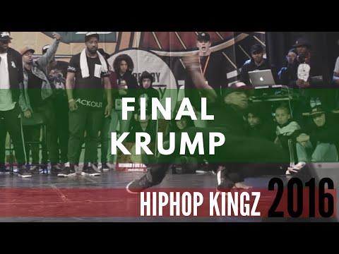 HipHop Kingz 2016 | Final Krump Battle | Kid NY vs Boy Mijo
