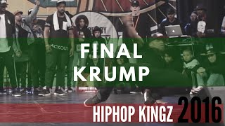 Finał Krump na HipHop Kingz 2016: Kid NY vs Boy Mijo