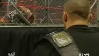RAW Jeff Hardy vs Umaga (Steel Cage Match) 1/7/08 Part 1