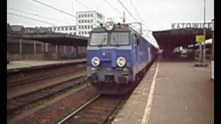 """Stacja Katowice: InterCity """"Ondraszek""""."""