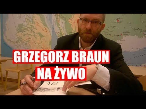 LIVE 🔴 Grzegorz Braun u Dariusza Mateckiego. Pytania na żywo!