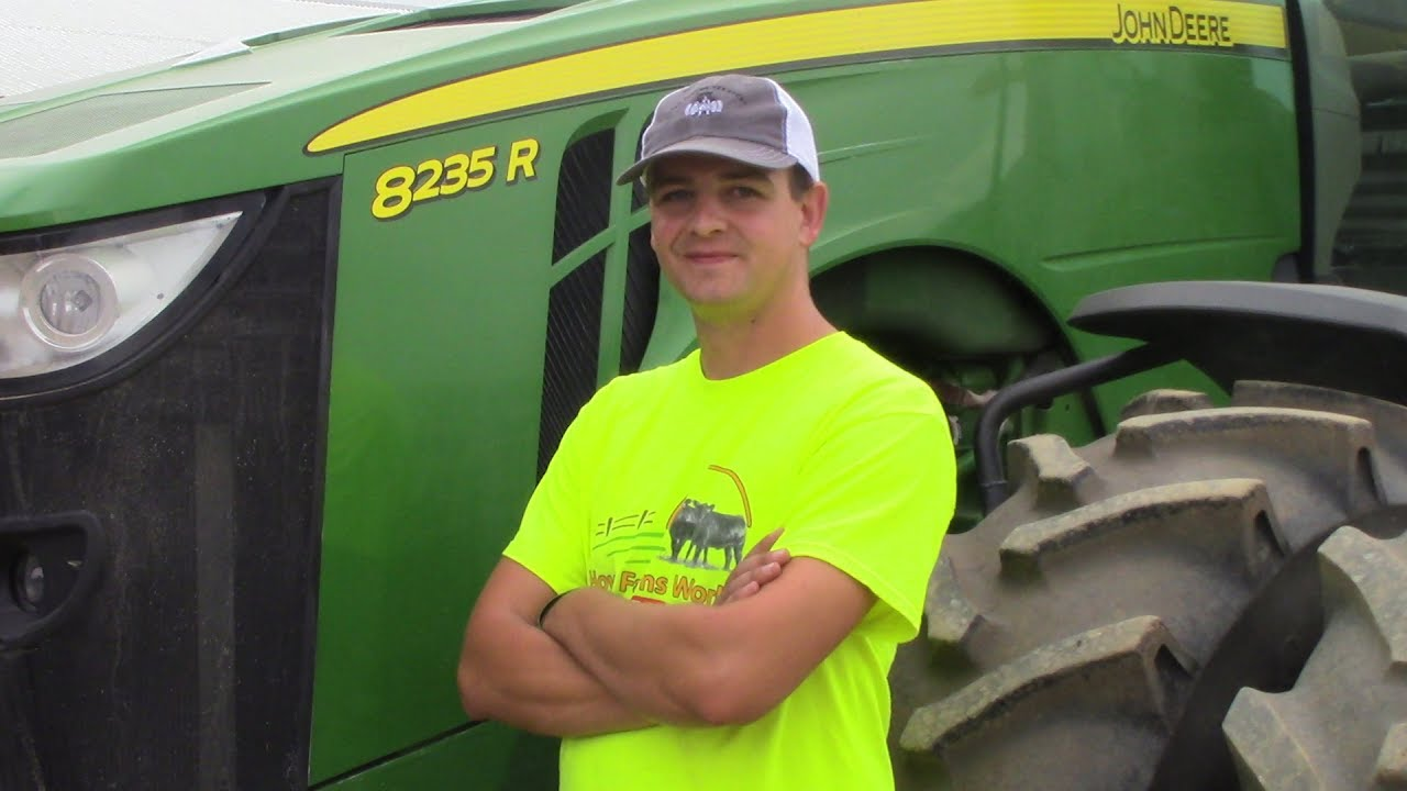 Btp Takes A Tractor Ride At How Farms Work With Travis From The Rest Of The Story Youtube