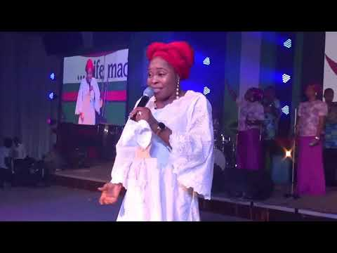 TOPE ALABI AT CORNFIELD END OF THE YEAR THANKSGIVEN