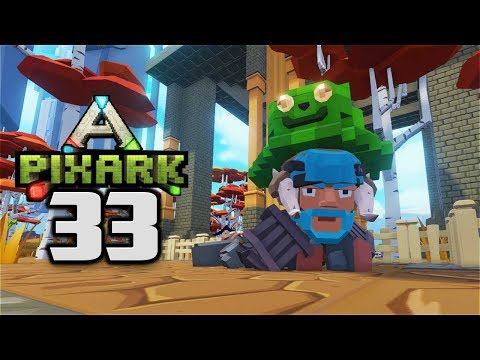 PRETTY PATHWAY & RARE SEED HUNTING! - Let's Play PixARK Gameplay Part 33 (PixARK Pooping Evolved)