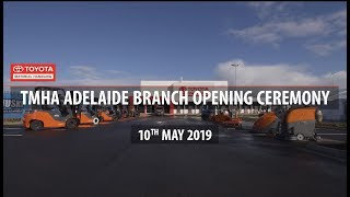Toyota Material Handling Adelaide Branch Opening (2019)