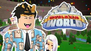 I EXPLORED A NEW CITY!! ROBLOXIA WORLD