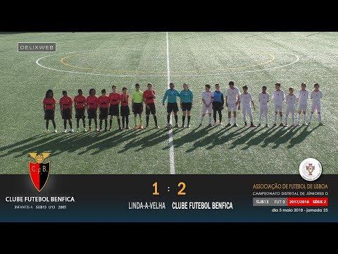 Linda-a-Velha (1-2) Clube Futebol Benfica [FUT9 S13] J25