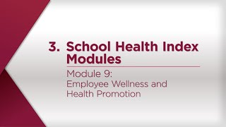 Module 9: Employee Wellness and Health Promotion