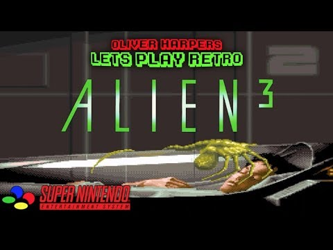 ALIEN 3 Let's Play Retro (Super Nintendo)
