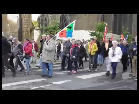 Merci Macon les retraites en colère Saint Brieuc 28 Septembre 2017