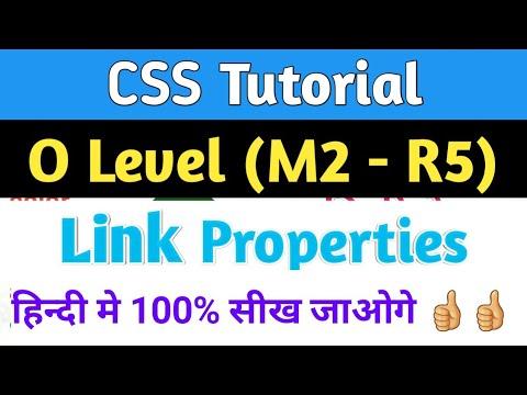 o-level--css-link-properties-|-link-properties-in-css-|-css-link-properties-tutorial-|-o-level-m2-r5