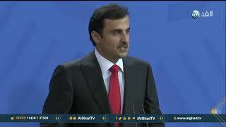 تقرير| مظاهرات أمام برج إيفل تطالب بتوقيف أمير قطر خلال زيارته لباريس
