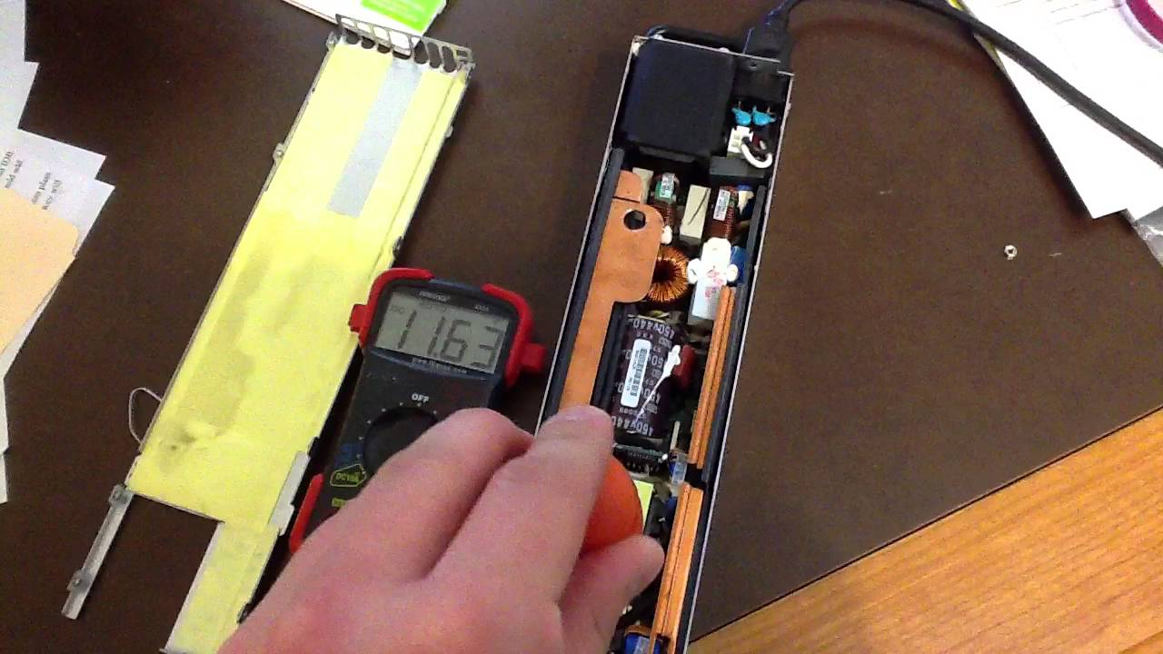 Dell Sever Power Supply voltage hack - YouTube