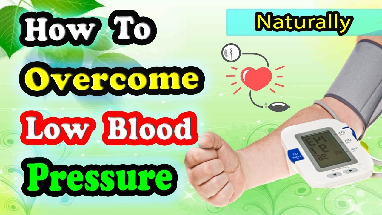 what is treatment for low blood pressure