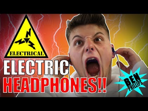 Thumbnail: ELECTRIC HEADPHONE **PRANK!** NEARLY KILLED GRANDAD!