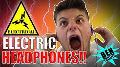 ELECTRIC HEADPHONE **PRANK!** NEARLY KILLED GRANDAD!