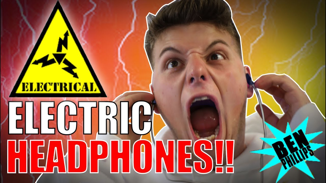 ELECTRIC HEADPHONE **PRANK!** NEARLY KILLED GRANDAD!