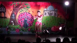 Janmastami 2015-Dance by Riya (Chethi Mandaram Tulasi)