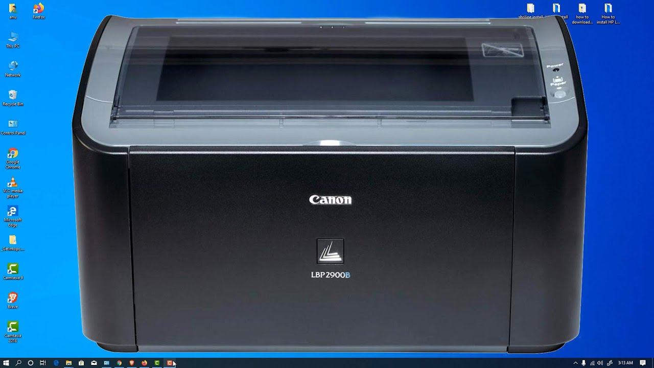 How to download and Install canon lbp 20/20b printer driver in windows