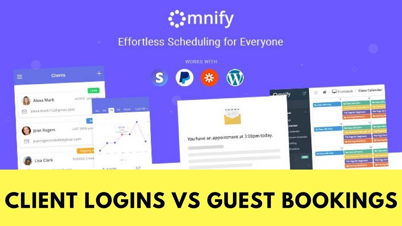 Client Login vs Guest Login