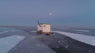 Будиночок на льоду - 2 Веселівське водосховище лютий 2017