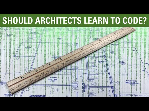 Should architects learn to code?