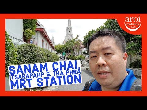 bangkok's-new-mrt-line---sanam-chai,-itsarapahp-&-tha-phra-station