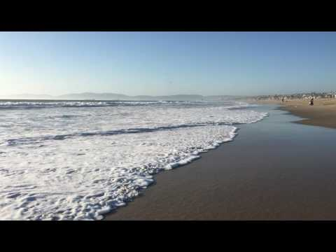 Hypnotic Beach Waves
