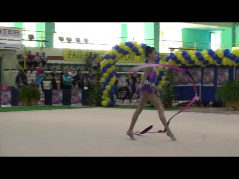 Alice David   CS Olimpia Bucuresti   Ribbon + Klementina Adamosi   LPS Targu Mures   Clubs