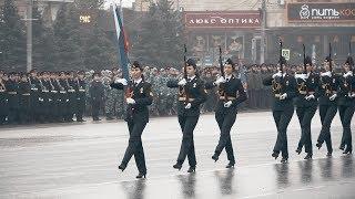 В Ростове-на-Дону состоялся парад  ГУ МВД России по РО