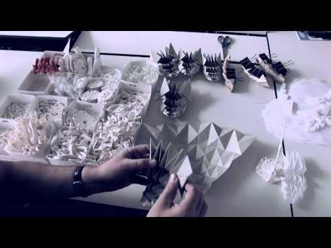 Oribotics Fabric Folding Process