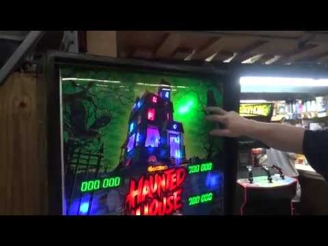 #754 Gottlieb HAUNTED HOUSE Pinball Machine Restoration! NEW Glass/Plastics/LED's- TNT Amusements
