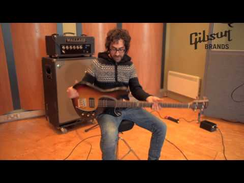 Billy Fuller  - Robert Plant's bass player talking about the Gibson EB14 Bass
