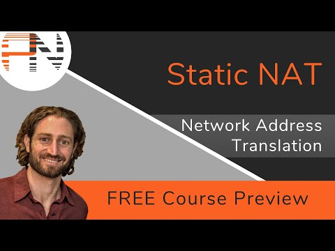 Static NAT -- NAT Operation and Concepts (FREE Course Preview)