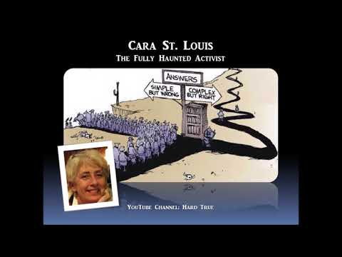 Sage of Quay Radio - Cara St. Louis - The Fully Haunted Activist (July 2018)