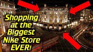 Shopping at Nike Town London!