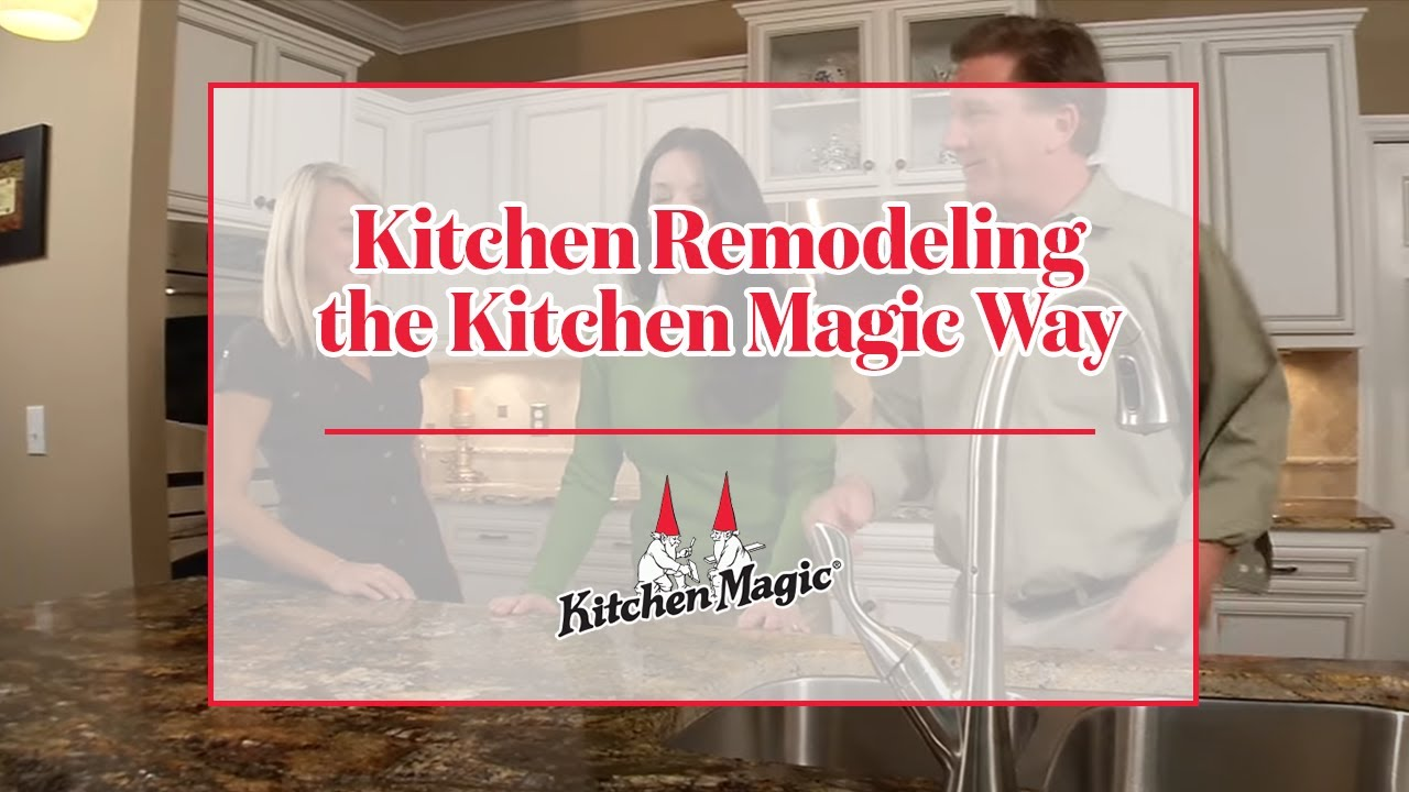 Kitchen Remodeling The Kitchen Magic Way   YouTube