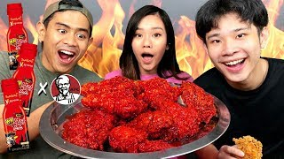 MUKBANG 1 EMBER KFC FT. TANBOY KUN, JESS NO LIMIT!!!